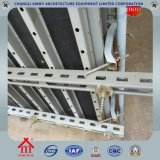 Cassaforma del muro di cemento della costruzione