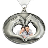 Изготовленный на заказ оптовая продажа медали сувенира годовщины венчания металла