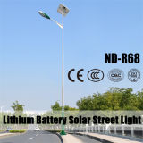 lumières solaires extérieures de lampe de 60W DEL avec la batterie au lithium 12V100ah (ND-R68)