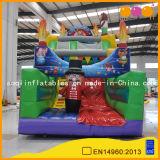 遊園地の膨脹可能なスライドの子供(AQ01594)のためのお祝いのサーカスのスライド