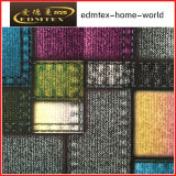 Polyester 100% gestricktes Gewebe-Drucken-Samt-Vorhang-Gewebe (EDM116)