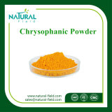 Ácido crisofánico del polvo del extracto del ruibarbo, Chrysophanol el 98%
