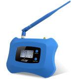 Trabajo móvil del aumentador de presión/del amplificador de la señal del repetidor 2g 4G del teléfono celular de DCS 1800MHz para Asia/Afica/Europa