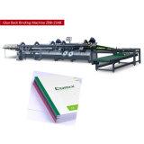 Machine de collage et de séchage à bande de papier pour livre d'étudiant Zbb25ab