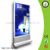 옥외 방수 광고 알루미늄 은 LED 가벼운 상자
