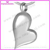 Ijd8032 comerciano il fascino all'ingrosso Pendant della collana del Keepsake delle ceneri dell'acciaio inossidabile dei monili di cremazione del cuore