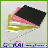 Precio de acrílico de la tarjeta del molde competitivo de la fuente de la fábrica de Gokai