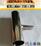3A que reduce la instalación de tuberías sanitaria inoxidable de la te