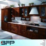 白い木のカスタマイズされた台所高級家具