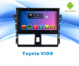 Carro Android DVD GPS do sistema para Toyota Vios tela de toque de 10.1 polegadas com Bluetooth/WiFi/TV/USB