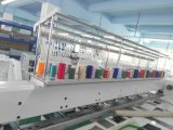 새로운 디자인 6 맨 위 의복 자수 기계, 판매를 위한 전산화된 모자 자수 기계 산업 사용