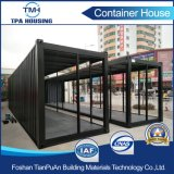 40FT Metal Sheet Fabrication Container House para pequenos expositores