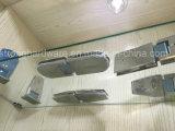 De Montage van de Deur van het Glas van de Commerciële Rang SUS van semi-Circinal 180degree