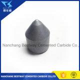 Bits de tecla do carboneto de tungstênio para a mineração