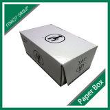 Caixa corrugada mergulhada cera da caixa para o camarão que empacota e que envia