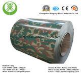 Aluminium d'enduit de couleur de PE/camouflage en aluminium enduit d'une première couche de peinture pour la Chambre de conteneur