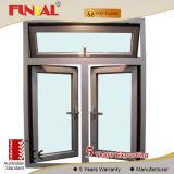 Обрамленный алюминием вертикальный сползая профиль окна или алюминия для окна и двери