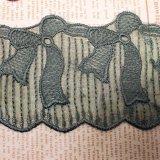 Breiten-Stickerei-Nylonnettospitze-Polyester-Stickerei-Zutat-Fantasie-Ineinander greifen-Spitze des Fabrik-auf lager Großverkauf-7cm für Kleid-Zusatzgerät u. Hauptgewebe u. Vorhang-Dekor