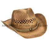 Sombrero de paja de encargo del sombrero del navegante de la paja de la promoción/Sunhat (DH-LH91210)