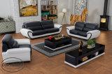 コーヒーテーブルの革ソファー一定Lz1688との新しい現代1+2+3