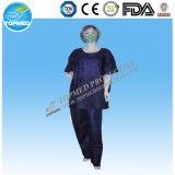 Venta caliente vestido de hospital para pacientes no tejida