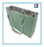Bolso de mano de papel personalizado de las ventas calientes para hacer compras y regalo
