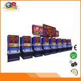 Venda curvada curvada das máquinas de entalhe dos gabinetes do casino do aristocrata da tela