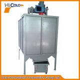 Fornecedor manual padrão clássico da cabine do revestimento do pó com dois filtros
