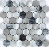 Алюминиевые плитки мозаики каменное Matel кроют плитки черепицей Aashnb2102 стены ванной комнаты Backsplash кухни украшения