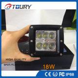 Lámpara auto del trabajo del motor LED de la fábrica de la luz 18W del CREE para el coche