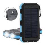 P68 impermeabilizan la batería 10000mAh de la energía solar con el cargador solar de la función del compás SOS