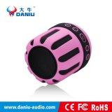Mini drahtloser Bluetooth Lautsprecher-tiefer beweglicher Aluminiumbaß-lautsprecher (DS-715)