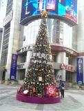 Arbre de Noël artificiel de PVC de vente chaude pour la décoration du marché