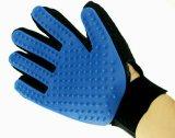 Поистине перчатка Deshedding касания для нежно эффективной перчатки щетки перчатки холить кота собаки любимчика линяя перчатку массажа любимчика перевозчика волос любимчика инструмента перчатки купая COM щетки