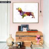 Wand-Kunst-Segeltuch-Druck der Karikatur-Hunde