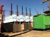 5X2MW 50Hzのディーゼル発電所