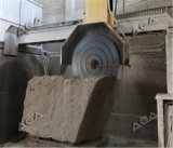 Bloques de piedra de hojas múltiples del granito del Sawing del equipo del corte del puente en las losas