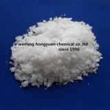 Escamas blancas del cloruro del magnesio