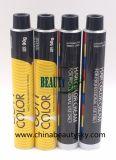 Косметика упаковывая пробки профессиональной сливк цвета волос пустые складные алюминиевые
