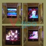 Pantalla de visualización de interior a todo color de LED de la alta calidad para la pared video 4.8m m del LED
