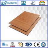 El SGS de China certificó los paneles compuestos de aluminio cubiertos el PE