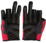 Горячее сбывание 1 пара удить 3 Low-Cut перстов перчаток рыболовства Breathable Anti-Slip