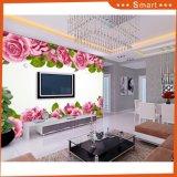 Peinture à l'huile 3D romantique Rose World Rose Design pour la chambre à coucher