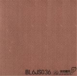 Azulejo esmaltado diseño gris de la porcelana del color de la mirada del metal (600X600m m)