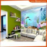 Das moderne Form-Karikaturgoldfish-Wand-hängende Ölgemälde auf Segeltuch