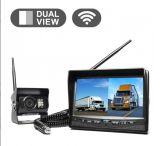 "Sistemas de cámaras para vehículos comerciales inalámbricos de pantalla dual de 7 """