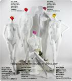 2017 nuovi Mannequins della vetroresina di Famale della testa di fiore, Mannequins di Famale di modo