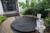 Plancher en plastique en bois composé extérieur d'Eco/Decking extérieur de WPC