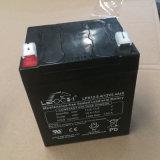 Hohe Kinetik 12V 5.4ah AGM-Leitungskabel saure UPS-Batterie-Solarbatterie