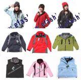 De esquí de las chaquetas capas del invierno de las chaquetas de las lanas de la ropa abajo